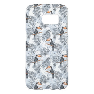 Gray Toucan Samsung Galaxy S7 Case