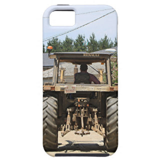 Gray Tractor on El Camino, Spain iPhone 5 Case