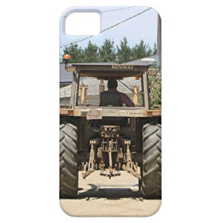 Gray Tractor on El Camino, Spain iPhone 5 Cover