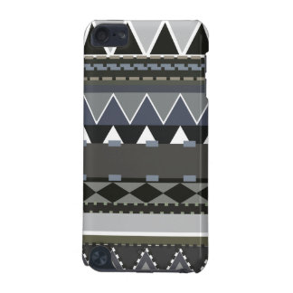 Gray Tribal Inspired iPod Touch (5th Generation) Cases