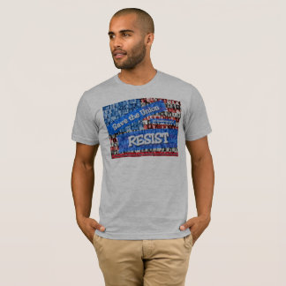 Gray Union Resistance T-shirt