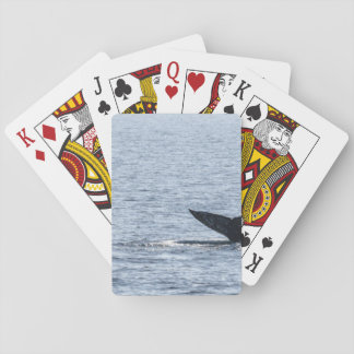 Gray Whale Tail Playing Cards