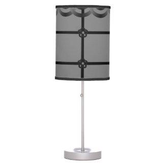 gray white decorative lamp shade