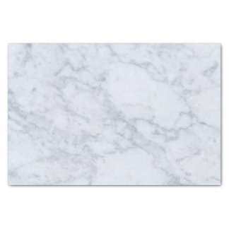 Gray & White Marble Texture Print Tissue Paper