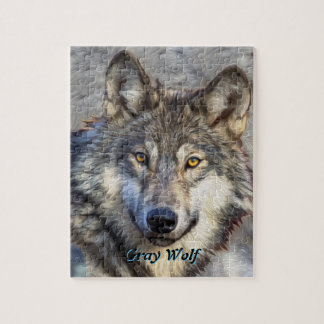 Gray Wolf Dignity Puzzle