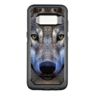 Gray Wolf OtterBox Commuter Samsung Galaxy S8 Case