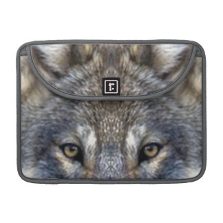 Gray Wolf Sleeve For MacBooks