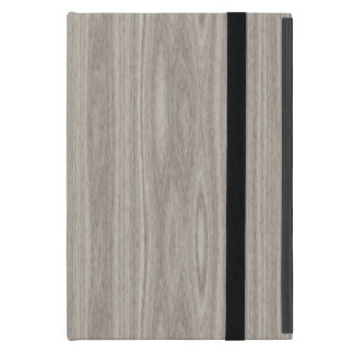 Gray Wood Grain Case For iPad Mini