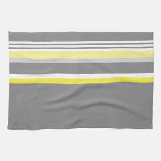 Gray (Yellow stripe) Kitchen Towel