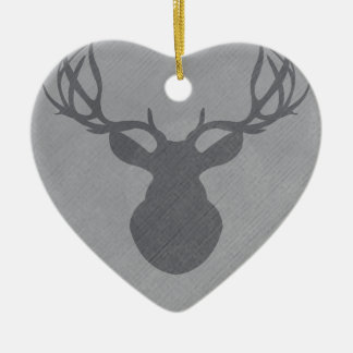 graydeer.png ceramic ornament