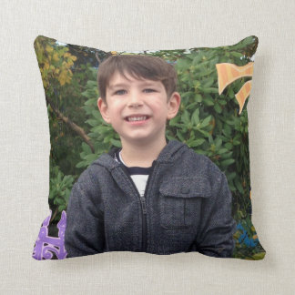 Grayden at Sesame Place Throw Pillow