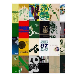 GRAYDON - YEARBOOK COVERS POSTCARD