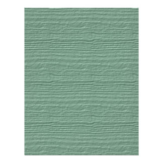 Grayed Jade Wood Grain Color Accent Letterhead