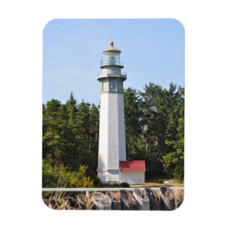 Grays Harbor Lighthouse in West Port, WA Magnet