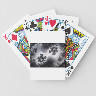 Grayscale Galaxy Bicycle Playing Cards