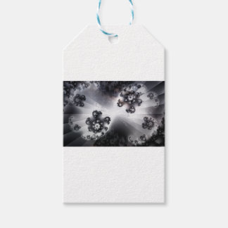 Grayscale Galaxy Gift Tags