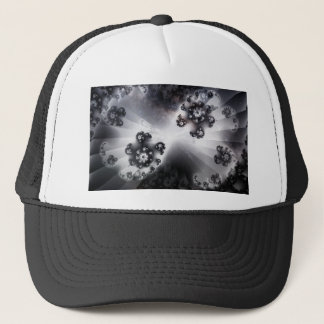 Grayscale Galaxy Trucker Hat