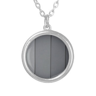 Grayscale Silver Plated Necklace