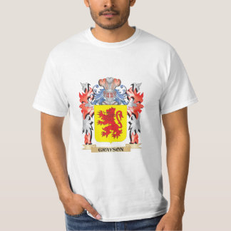 Grayson Coat of Arms - Family Crest T-Shirt