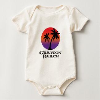 Grayton Beach Florida. Baby Bodysuit