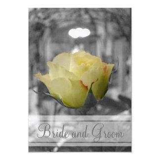 Graytones with Rose Monogram Card