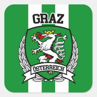 Graz Square Sticker