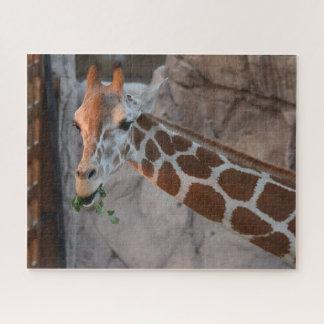 Grazing Giraffe Jigsaw Puzzle