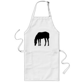 Grazing Horse Long Apron