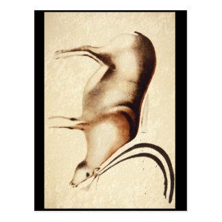 Grazing Reindeer', Font-de-Gaume_Art of Antiquity Postcard