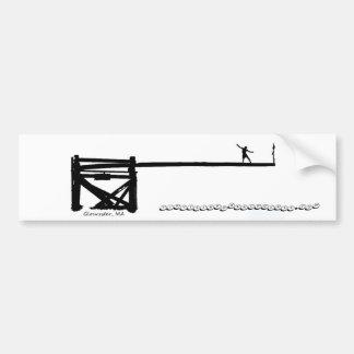 Greasy Pole Bumper Sticker