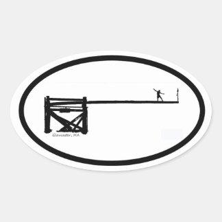 Greasy Sticker ~ Greasy Pole ~ Gloucester, MA