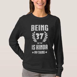 Great 37th Birthday Shirt For Women/Men.