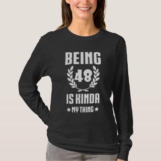 Great 48th Birthday Shirt For Women/Men.
