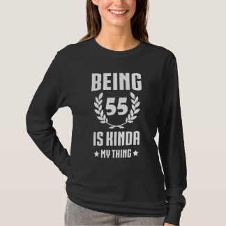 Great 55th Birthday Shirt For Women/Men.