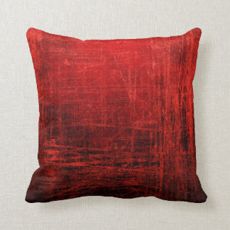 Great Abstract Red Pillow! Throw Pillow