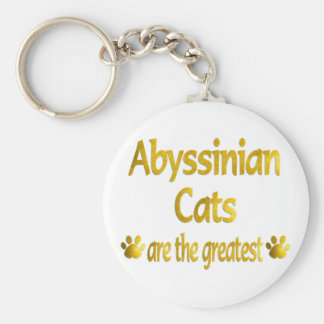 Great Abyssinian Keychain