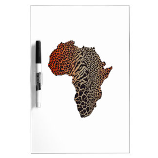 Great Africa Dry Erase Board