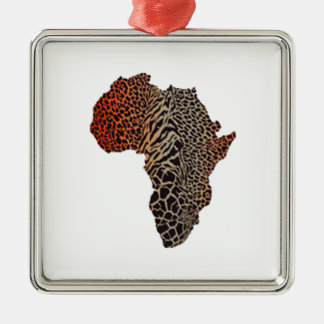 Great Africa Metal Ornament