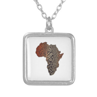 Great Africa Silver Plated Necklace