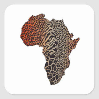 Great Africa Square Sticker