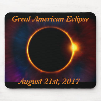 Great American Eclipse Mouse Pad