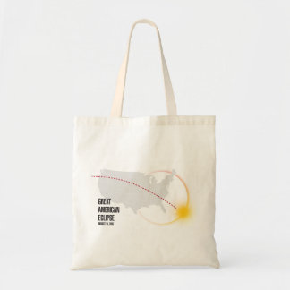Great American Solar Eclipse 2017 Tote Bag