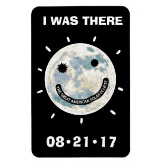 Great American Solar Eclipse I Was There 4 x 6 Rectangular Photo Magnet
