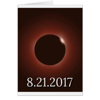 Great American Total Solar Eclipse 2017 Card