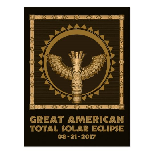 Great American Total Solar Eclipse - 2017 Postcard