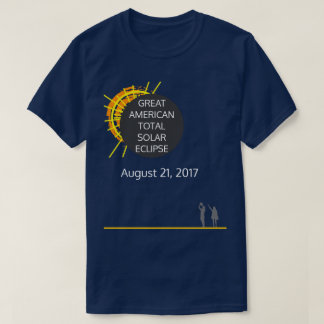 Great American Total Solar Eclipse cool custom T-Shirt