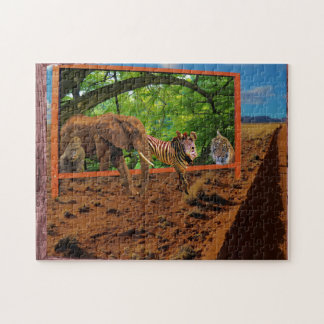 Great Animal Escape Jigsaw Puzzle