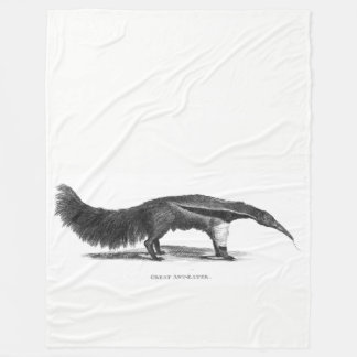 Great Anteater Fleece Blanket