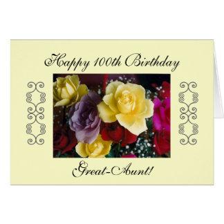 Great-Aunt 100th birthday Card