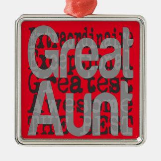 Great Aunt Extraordinaire Metal Ornament